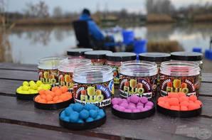 Флуо растворимые-плавающие пеллеты