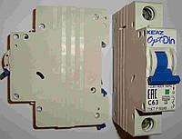Автоматический выключатель КЭАЗ BM63-1p C 63а Курск