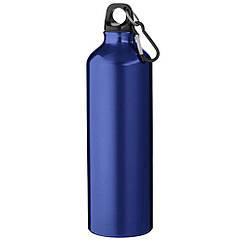Алюминиевая бутылка фляга  с карабином  на 770 мл