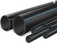 ПЭ-труба  Polymir черная д.90 PN10*6,7 (50/100)