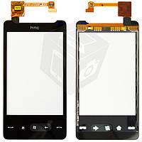 Touchscreen (сенсорный экран) для HTC HD Mini T5555, оригинал (черный)