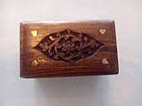 Скринька для дрібниць дерево, фото 2