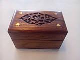 Скринька для дрібниць дерево, фото 3