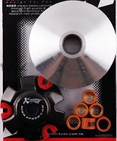 Вариатор передний (тюнинг) 4T Stels 150 (медно-графитовая втулка, ролики латунь) KOSO
