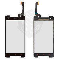 Touchscreen (сенсорный экран) для HTC Butterfly S 901e / 901s, оригинал, черный