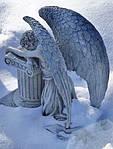 Использование образа ангела при изготовлении надгробных памятников