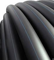 Труба полиэтиленовая EVCI   д. 50 PN6*3 черн (100)