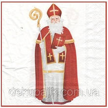 Салфетка декупажная Святой Николай 5587