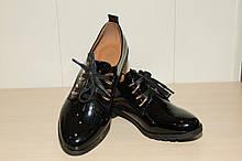 Туфли женские лаковые 36-41 р  арт 2585-4.