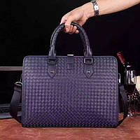 Классическая мужская сумка BOTTEGA VENETA синяя