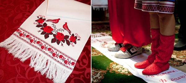 Свадебные рушники: сколько нужно для торжества