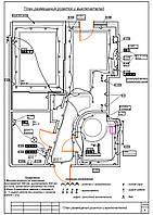 Схема размещения розеток и выключателей