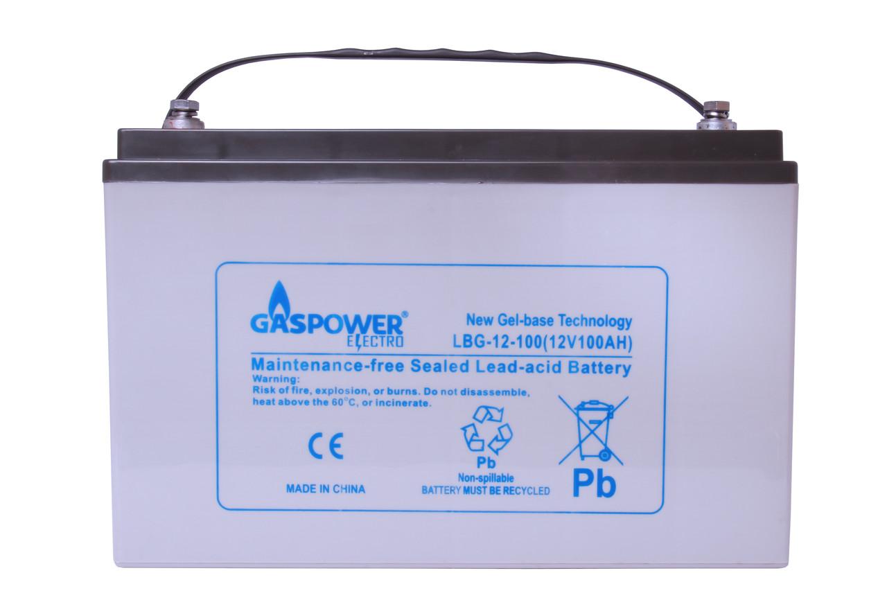 Аккумулятор Gaspower Electro LBG 12-100 (100 Ah, 12 В, 290 циклов)