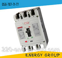 Силовой автоматический выключатель 250SL, 3p, 100А