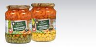 Консервированный горошек с морковкой и кукурузой  Nasza Spizarnia 420 g (Польша)