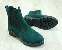 Ботинки женские демисезонные без каблука, 36-40 р-р , фото 1