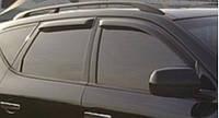 Ветровики на окна тонкие (тониров.) EGR Nissan Murano -08 #
