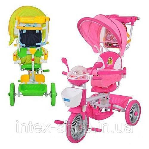 Детский велосипед трехколесный ET A18-10-1 (Зеленый)