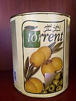 Оливки зеленые без косточки Испания 3,1 кг