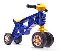 "Каталка ""Мотоцикл"" №2 h-35 см 4-х колесный до 20 кг 188"