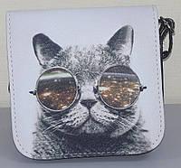 Маленькая сумочка с котом в очках, фото 1