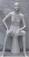 Манекен глянец. Женский сидячий 602-Ж3