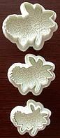 Плунжер Букет цветов 3 шт ( кнопка), фото 1