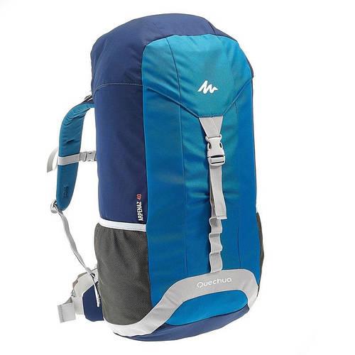 Рюкзак туристический Quechua ARPENAZ 40 л  синий, 649866