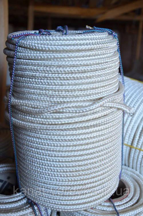Мотузка 10 мм - 50 м, шнур капроновий (поліамідний)
