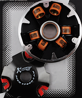 Вариатор передний (тюнинг) Suzuki AD100 (медно-графитовая втулка, ролики латунь) V-81 KOSO