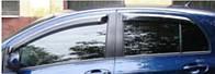Ветровики на окна тонкие (тониров.) EGR TOYOTA YARIS 5DR 2006- #