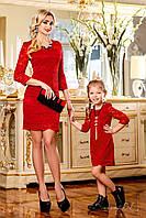 Family look комплект платьев мама и дочка