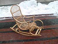 Плетеное детское кресло-качалка