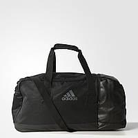 Сумка черная adidas 3 Stripes Performance Medium Team Bag AJ9993