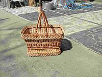 Пасхальная плетеная корзинка