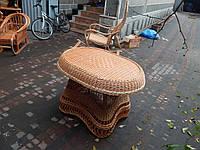 """Плетеный стол """"Королевский"""" из лозы"""