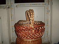 Набор из плетеных корзин ажурна