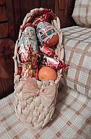 Подарочная корзинка «Лапти»