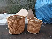 Угловая корзинка для белья