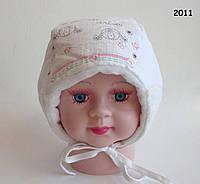 Зимняя шапка Mona для девочки 42 см, фото 1