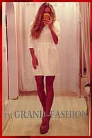Платье КУКОЛКА цвет молочный