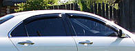 Ветровики на окна тонкие (тонирован.) EGR HONDA ACCORD 03-08 #