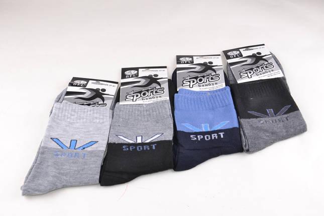 Подростковые носки однотонные Спорт (B396) | 12 пар, фото 2