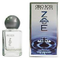 Парфюмерная вода для женщин Aqua Zoe мини, 10 мл (Carlo Bossi)