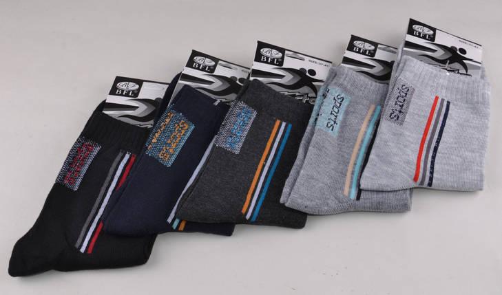 Подростковые носки однотонные Спорт (B33)   12 пар, фото 2