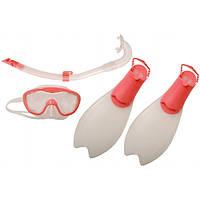 Набор для плавания детский: трубка, маска, ласты SPEEDO 8035931341