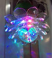 Диско лампочка цветок  код 56123