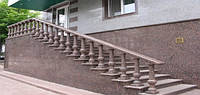Гранитная плитка  для облицовки ступеней