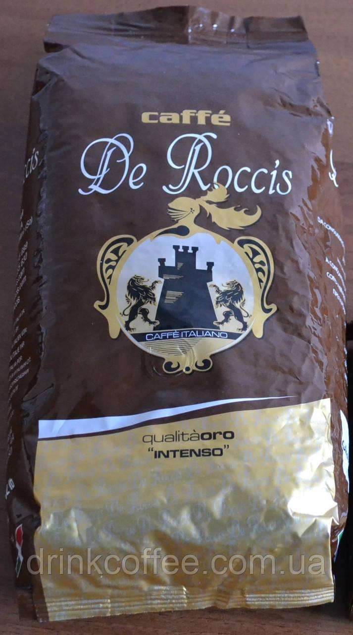 Кофе Caffe de Roccis Qualita ORO, зерно, Италия, 1 кг