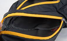 Нагрудна сумка-рюкзак NatureHike чорний-зелений NH23X008-K, фото 3